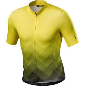 Mavic Cosmic Graphic Jersey Men Yellow Mavic